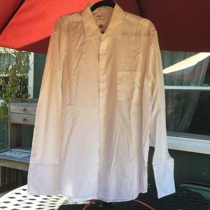 Van Heusen white tux shirt nwot